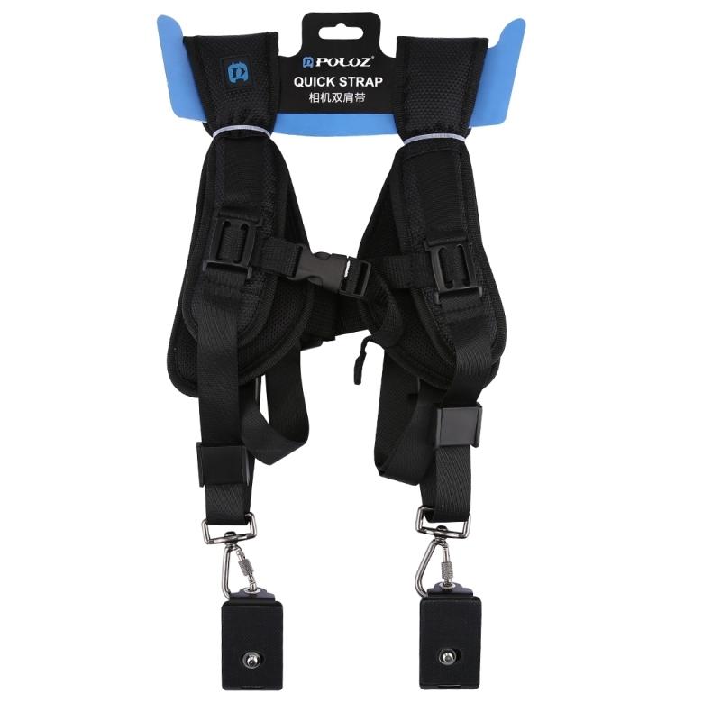 2b7b4d2d2d0ddb7d puluz quick release double shoulder harness soft pad decompression