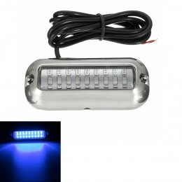 Atv,rv,boat & Other Vehicle 50w 27led Red/blue/green Boat Light Underwater Pontoon Marine Transom Light Ip68 Waterproof Stainless Steel Anchor Stern Lamp Products Are Sold Without Limitations