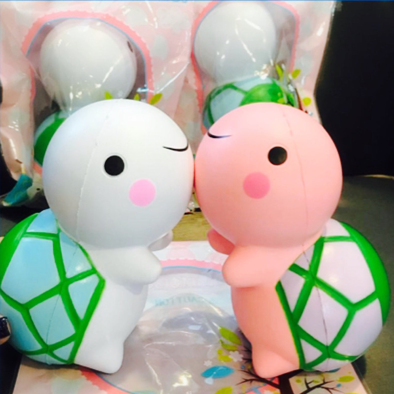 Pinkgymgirl Squishy Collection : LeiLei Squishy Jumbo Turtle Slow Rising Original Packaging Cute Animal Collection Gift Decor Toy ...