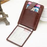 Portable Hasp 11 Card Holder Waxy Slim Women Short Purse Wallets Coin Bags