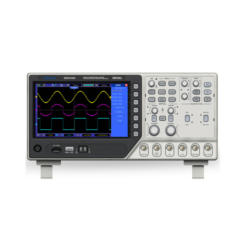 Hantek Oscilloscope Digital : Hantek dso c digital multimeter oscilloscope usb mhz