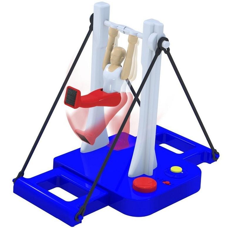 Horizontal Bar Gymnast Game High Bar Dismount Toy