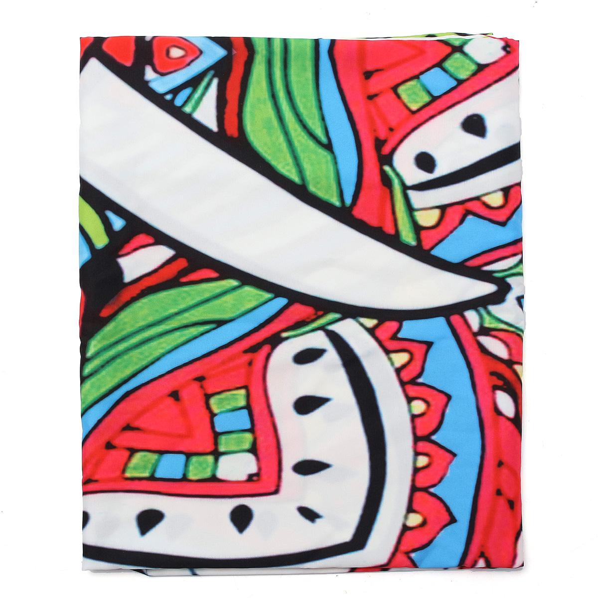 Beach Blanket Yoga Mat Elephant Bohemian Style Tapestry Hanging Curtain Throw Towel Bedspread
