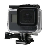 For GoPro HERO5 Black Touch Screen 60m Underwater Waterproof Housing Diving Protective Case with Buckle Basic Mount & Screw, No Need to Disassemble
