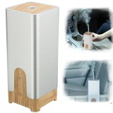 Portable Mini USB Wooden Ultrasonic Aroma Humidifier Diffuser Air Fresher Purifier Home Car