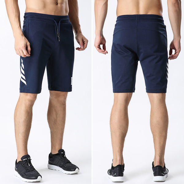 Running Basketball Shorts Men's Summer Pure Cotton Breathable Beach Drawstring Shorts Pants