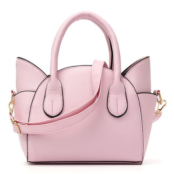 Women Cute Cat Wing Handbags Girls Chic Shoulder Bags