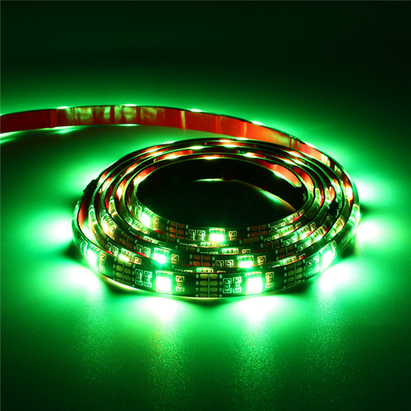 4X50CM USB RGB 5050 LED Waterproof Strip Light TV Back Lighting Kit + 24 Key Remote Control DC5V