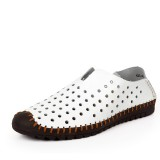 Men Hollow Out Oxfords Breathable Soft Leather Shoes