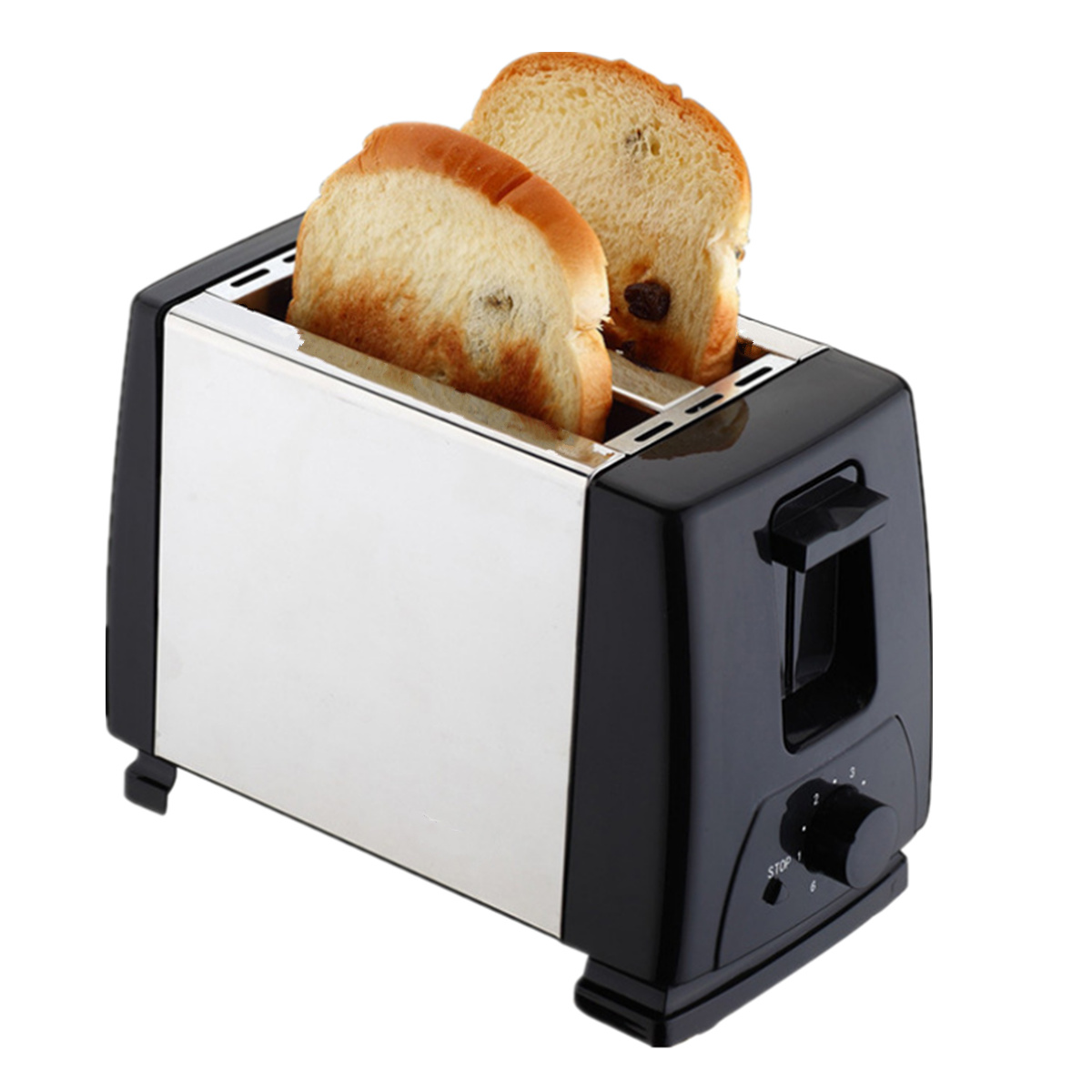 Electric Automatic 2 Slice Bread Toast Toaster Sandwich