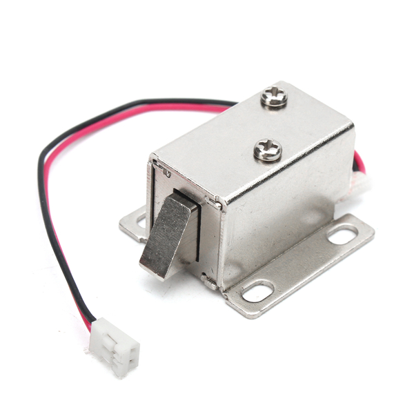 12v electronic lock catch electric release assembly
