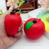 Squishy Red Apple 7cm Soft Slow Rising Fruit Collection Decor Gift Toy