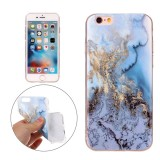 For iPhone 6s Plus & 6 Plus Blue Marble Pattern Soft TPU Protective Case