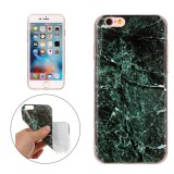 For iPhone 6s Plus & 6 Plus Dark Green Marble Pattern Soft TPU Protective Case