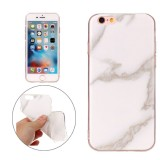 For iPhone 6 & 6s Beige Marble Pattern Soft TPU Protective Case