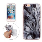 For iPhone 6 & 6s Ink Marble Pattern Soft TPU Protective Case