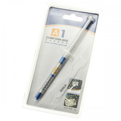 PcCooler A1 Thermal Grease Cooling for Overlocking Containing 25 Percent Silver Thermal Grease