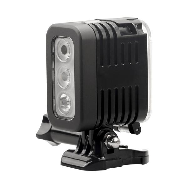 for 4 Fill Gopro DSLR Yi Hero LED Camera SJCAM Session Flash Light Spot Lamp Waterproof Xiaomi clJFK1T3
