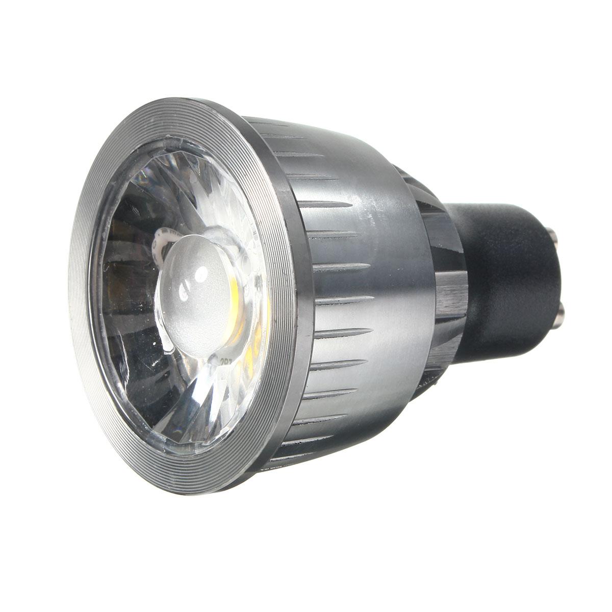 gu10 3w ultra bright led cob pure white warm white spot lighting bulb ac85 265v. Black Bedroom Furniture Sets. Home Design Ideas