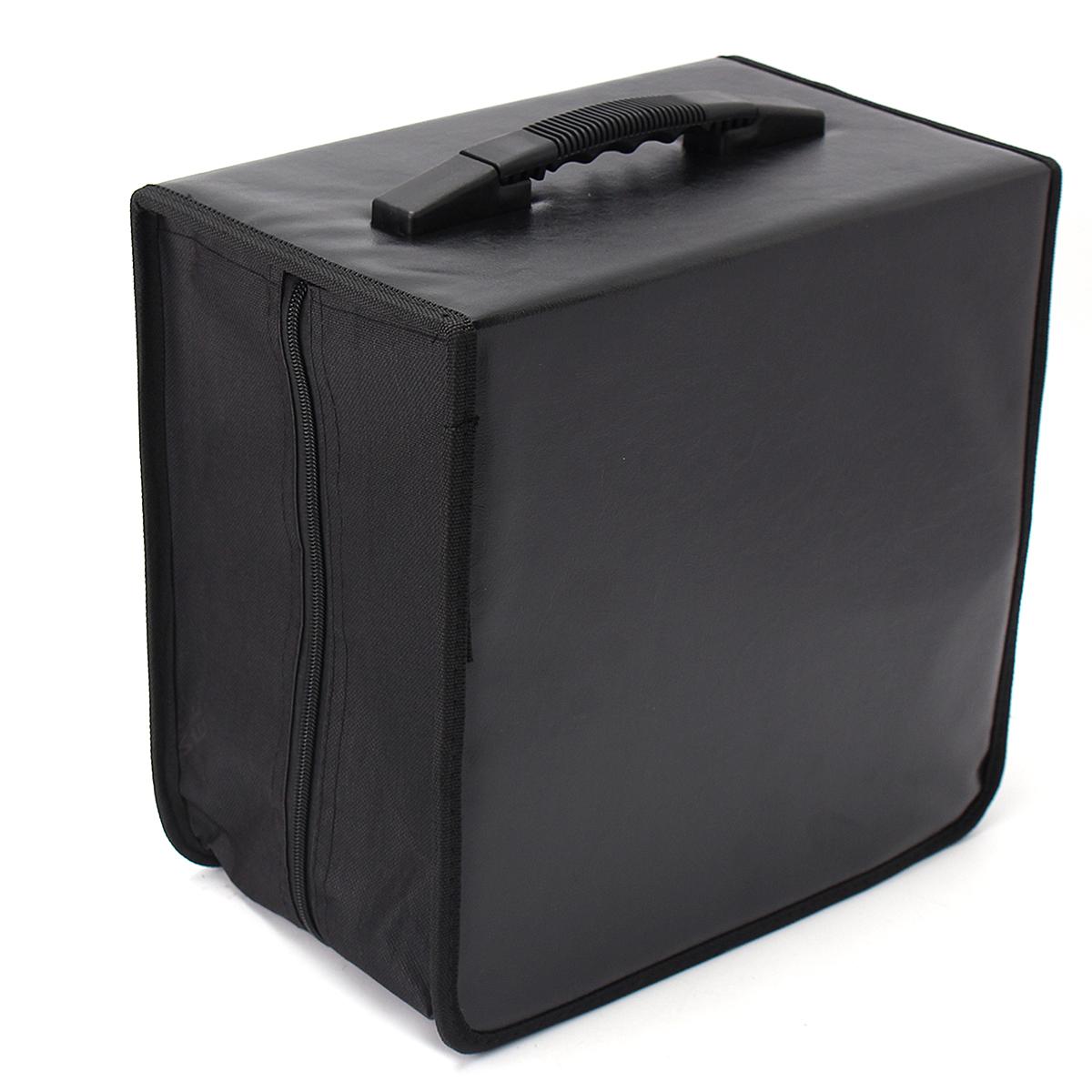 2518bd6c1ae3 520 Discs CD DVD DJ Wallet Holder Bag Case Album Organizer Media Storage