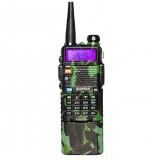Upgrade BaoFeng UV-5R Camouflage Walkie Talkie VH/UHF Dual Band Two Way Radio Transceiver 3800mah