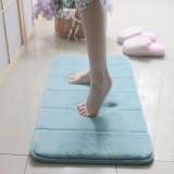 Honana New Thickened Coral Velvet Memory Foam Rug Bathroom Mat Soft Non-slip Plush Floor Carpet