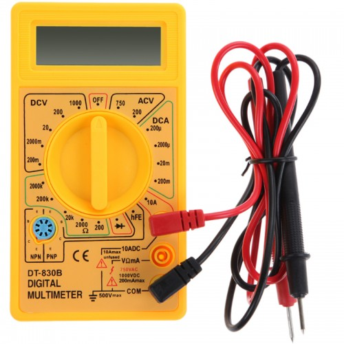 how to use a ohm multimeter