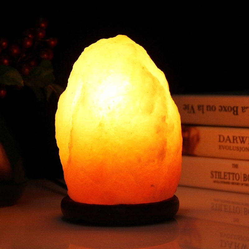 Salt Lamp Light Bulb Size : 2W E12 Small Dimmable Himalayan Salt Lamp Crystal Rock Healthy Table Desk Lamp Night Light with ...
