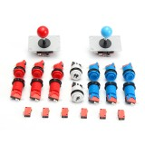 Joystick Push Button Start Button Microswitch DIY Kit For Arcade Game