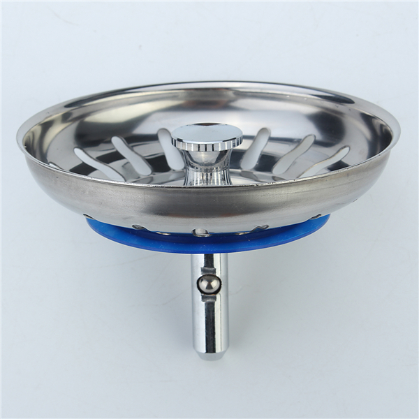 304 Stainless Steel Kitchen Sink Strainer Stopper Waste