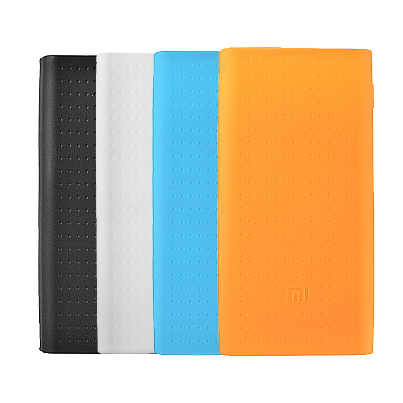 best authentic aeb38 708e2 Silicone Protective Back Cover Case For Xiaomi Power Bank 2 20000mAh