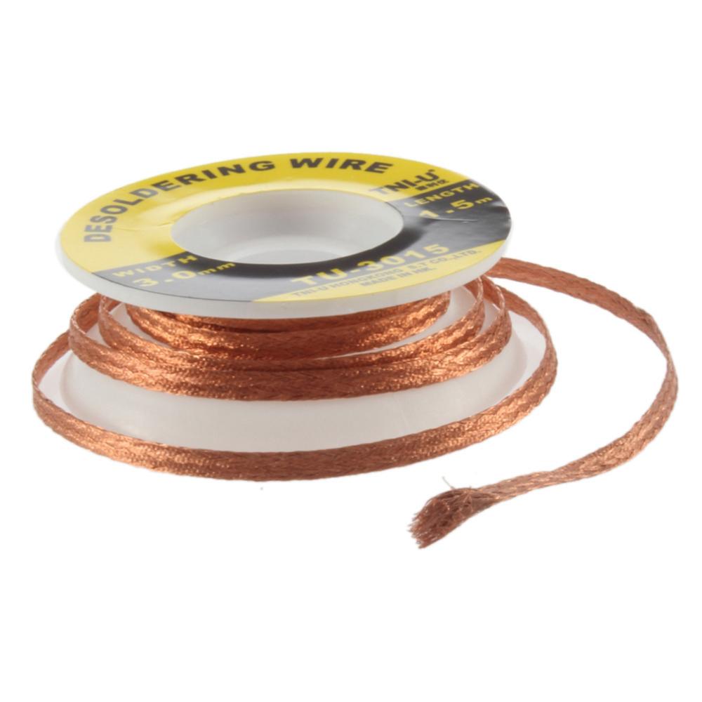 Tni U Tu 3015 1 5m Bga Desoldering Wire Solder Remover