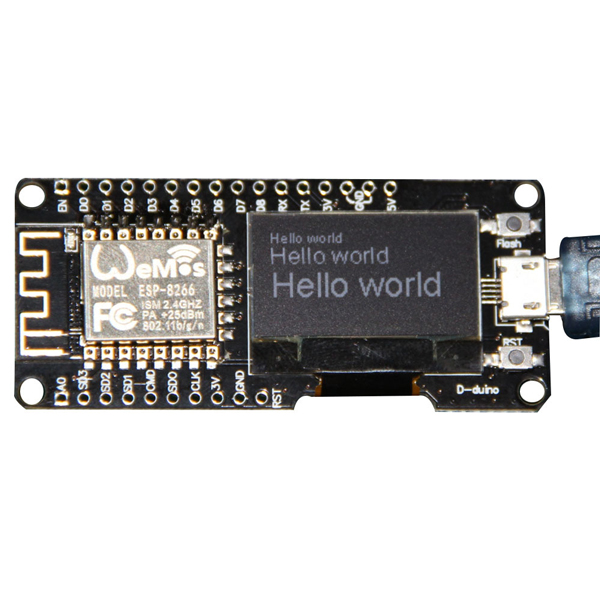 Wemos 174 Nodemcu Wifi For Arduino And Nodemcu Esp8266 0 96