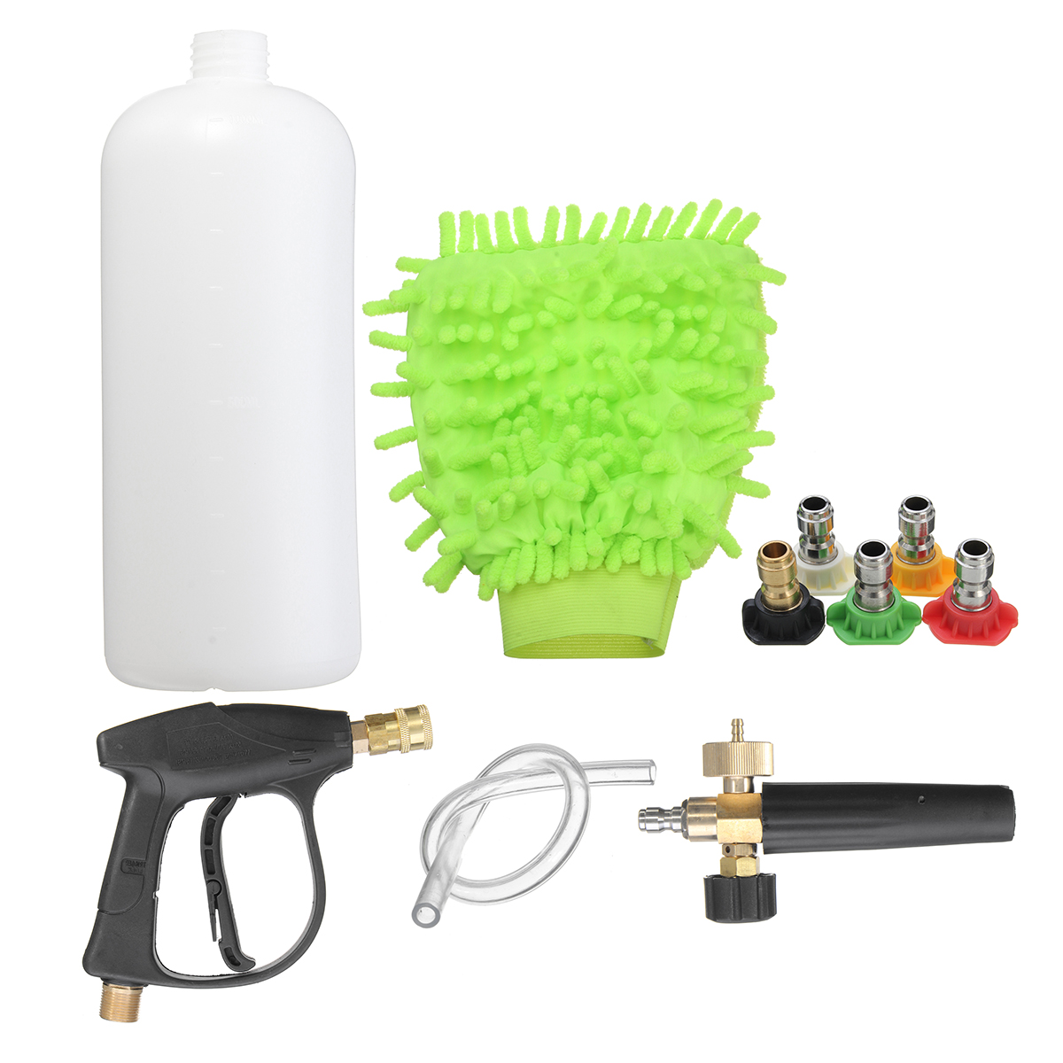 High pressure washer gun water jet snow foam lance cannon