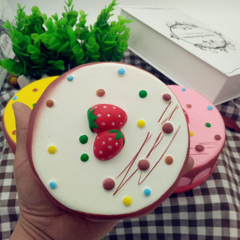 Squishy Jumbo Mousse Cheesecake 14cm Slow Rising Cake Collection Gift Decor Toy Alex NLD
