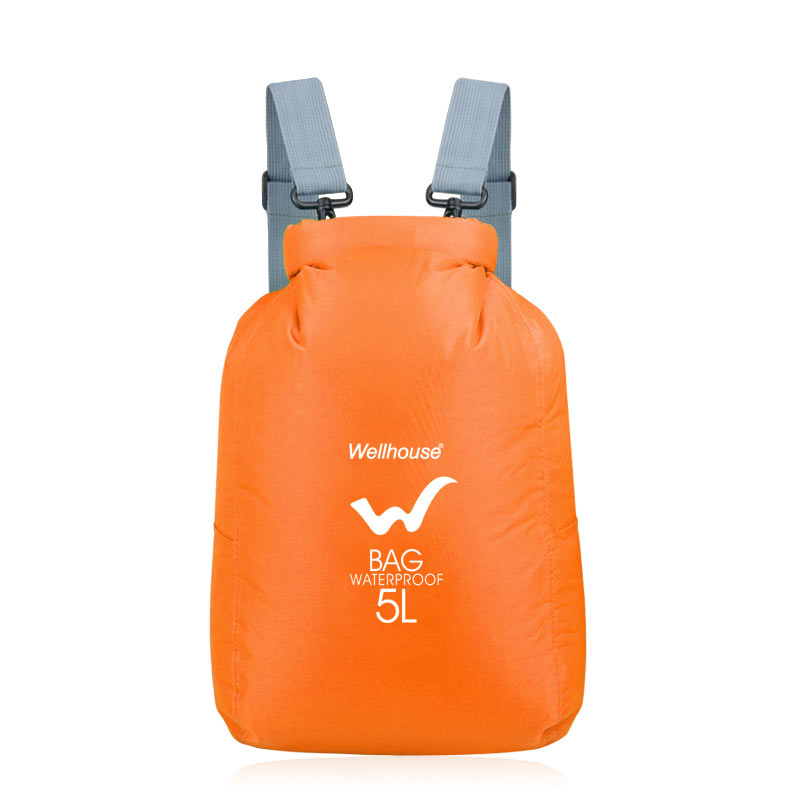 Wellhouse WH-021 Waterproof Dry Bag Roll Top Dry Bag Sack Swimming Camping Kayaking Storage Bag