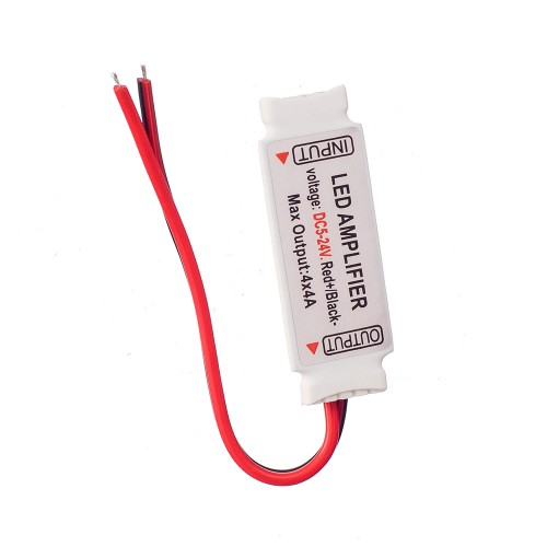DC5-24V 4CH x 4A Mini RGBW Amplifier 5 pin Controller for 5050 RGBW LED Strip Light