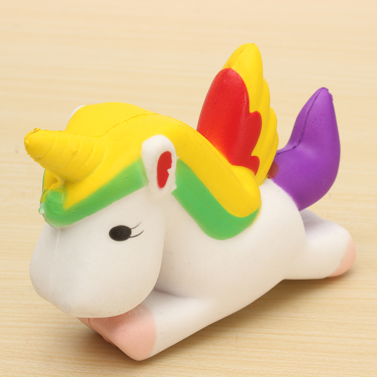Old Squishy Toys : 12CM Unicorn Squishy Slow Rising Cartoon Doll Squeeze Toy Collectibles for Cellphone Alex NLD