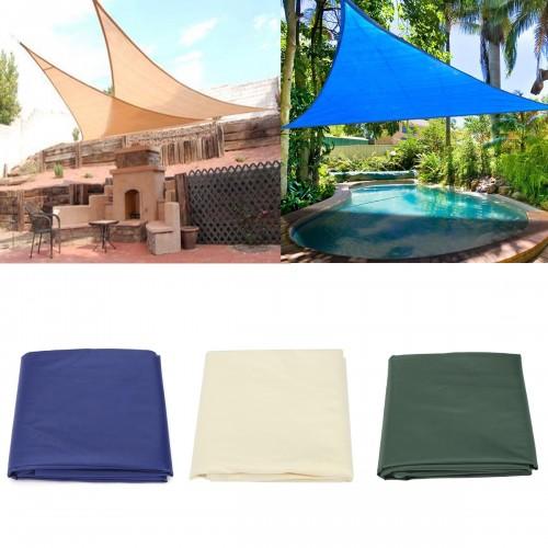 IPRee™ 3.6x3.6x3.6M/5x5x5M Sun Shade Sail Anti-UV Outdoor Patio Lawn Triangle Tent Canopy