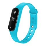 CHIGU C6 0.69 inch OLED Display Bluetooth Smart Bracelet, Support Heart Rate Monitor / Pedometer / Calls Remind / Sleep Monitor / Sedentary Reminder / Alarm / Anti-lost, Compatible with Android and iOS Phones (Blue)
