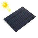 18V 1.5W 80mAh DIY Sun Power Battery Solar Panel Module Cell, 110 x 140mm