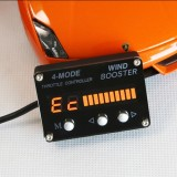 Car Auto 4-Model Electronic Throttle Accelerator with Orange LED Display for JaguarXF Land Rover Discovery4 EPICA-II