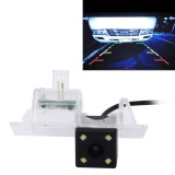 720?540 Effective Pixel PAL 50HZ / NTSC 60HZ CMOS II Waterproof Car Rear View Backup Camera With 4 LED Lamps for 2015/2016 Version Touareg 2015/2016 Version Sharan