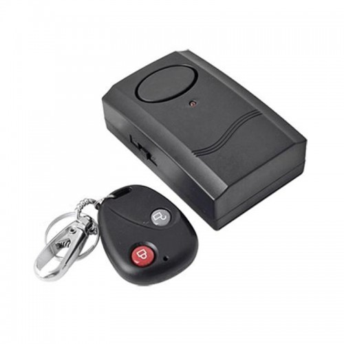Motorcycle Universal Wireless Security Alarm System with Remote Control (Host and Siren in One)