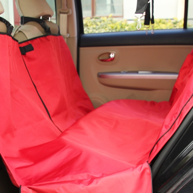 Nonslip Folding Car Rear Back Seat Cover Pet Cat Dog