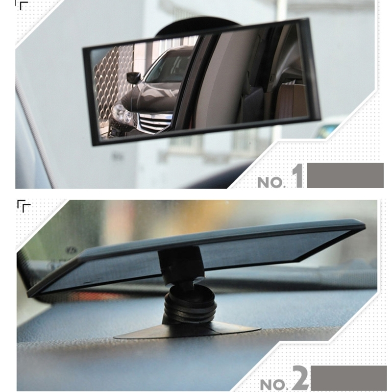 3r 3r 125 car auto 360 degree adjustable interior windshield blind spot mirror with two sucking. Black Bedroom Furniture Sets. Home Design Ideas