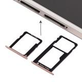 Replacement Huawei Honor 5X Micro SIM Card Tray + Nano SIM & Micro SD Card Tray (Gold)