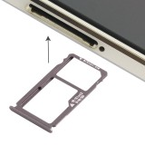 Replacement Huawei Mate S Nano SIM Card Tray + Nano SIM / Micro SD Card Tray (Grey)