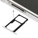 Replacement Huawei Honor 7 Nano SIM Card Tray + Nano SIM / Micro SD Card Tray (Silver)