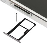 Replacement Huawei Honor 7 Nano SIM Card Tray + Nano SIM / Micro SD Card Tray (Grey)